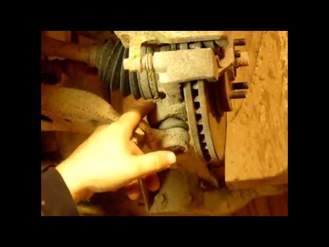 How to change lower ball joints on a Toyota Highlander