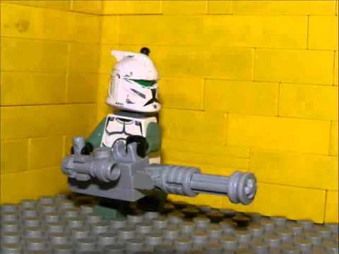 Lego Star Wars-Minigun Test