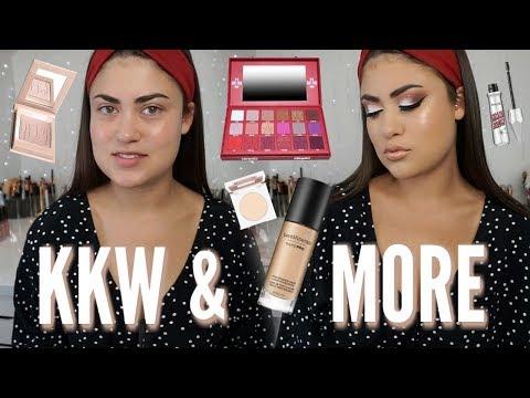 GRWM Makeup Tutorial! Blood Sugar Palette, KKW Concealer & More!