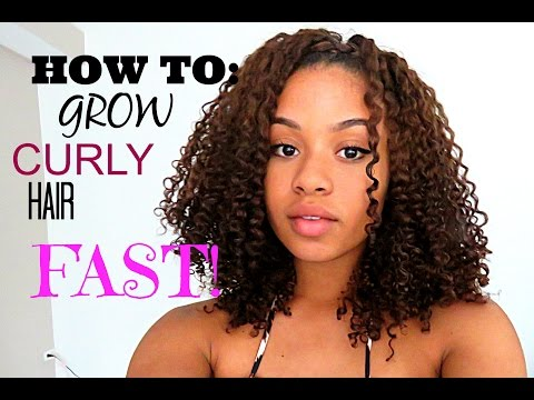 How to: Grow Curly Hair FAST!