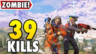 ZOMBIE BROTHERS!   FT. YANRIQUE   CALL OF DUTY MOBILE BATTLE ROYALE