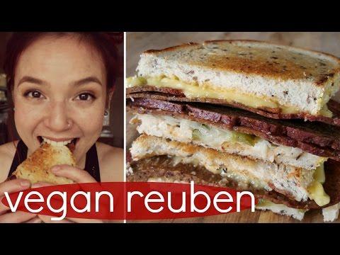 Vegan Reuben // My New Favorite Sandwich