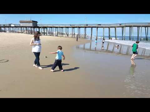 My kids last trip to ocean city, Maryland