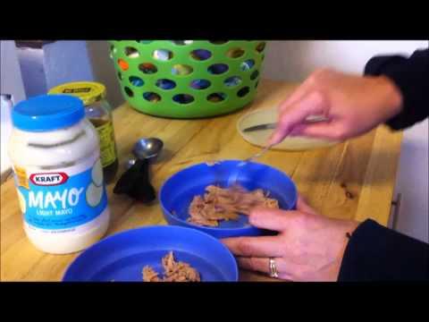How I Make My Tuna Fish Sandwich
