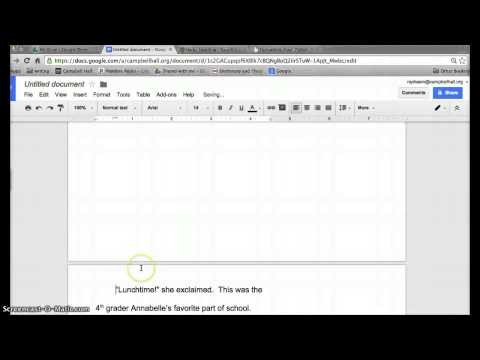 Changing Margins In Google Doc