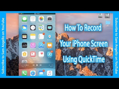 How To Record Your iPhone Screen - Using QuickTime
