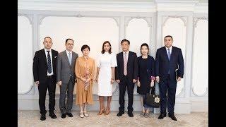 Birinci vitse-prezident Mehriban Əliyeva Çinin nümayəndə heyəti ilə görüşüb
