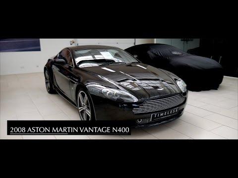 2008 Aston Martin Vantage N400 Edition