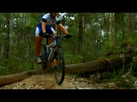 MTB Skills - Log Roll Over