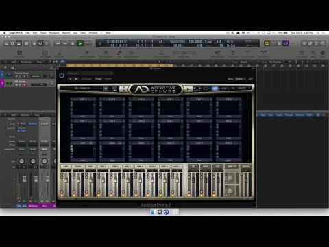 Custom Drums in Addictive Drums + Logic Pro X