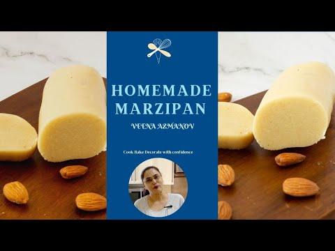 Homemade Marzipan Recipe in 5 mins - Marzipan Recipe