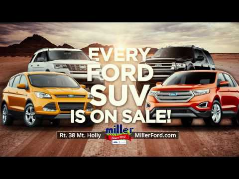 Miller Ford SUV Season Sales Event 2015