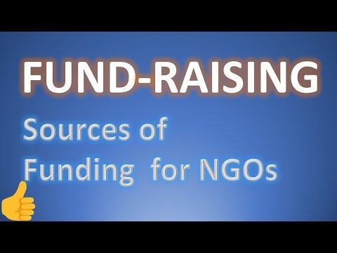 online/offline FUND-RAISING, ultimate sources of funding....