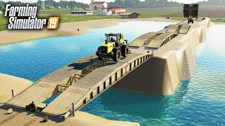 FS19- BUILDING A LAKE IN THE MIDDLE OF A CORN FIELD (IT WORKED