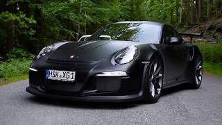 Matte Black Porsche 991 GT3 RS Armytrix Titanium Exhaust | AutoCenter Meschede GmbH