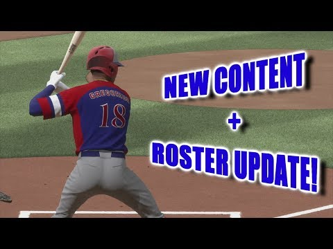 NEW CONTENT PLUS A ROSTER UPDATE!!!! - Ranked Seasons - MLB The Show 18 Live