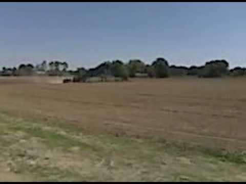 Corn Maze getting planted