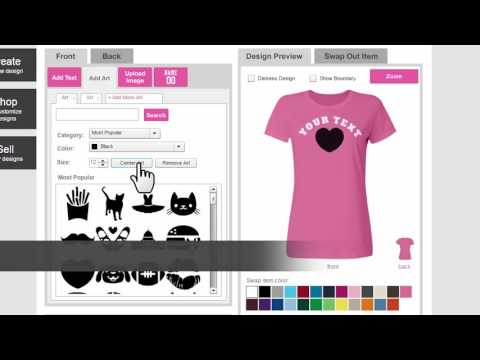 How To Design Your Own Custom T-Shirt Online - Customized Girl