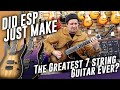 Did ESP Just Make The Greatest 7 String Guitars Ever ESP E II M II 7 NT
