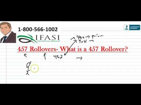 457b Rollover - What is a 457 Rollover