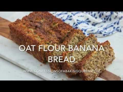 Oat Flour Banana Bread Finallll