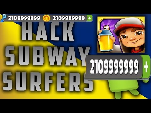 How to hack Subway Surf unlimited keys and coins root only