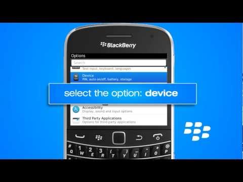 How to activate APN setttings on blackberry handset new updated