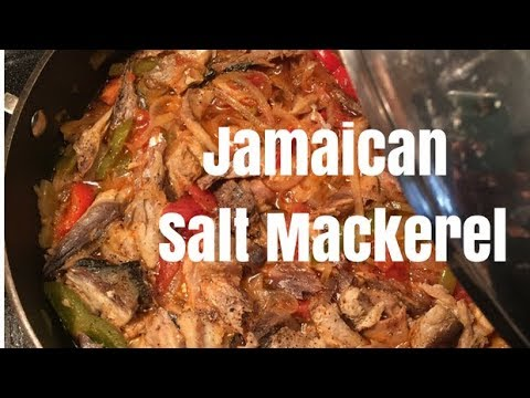 Jamaican Salt Mackerel
