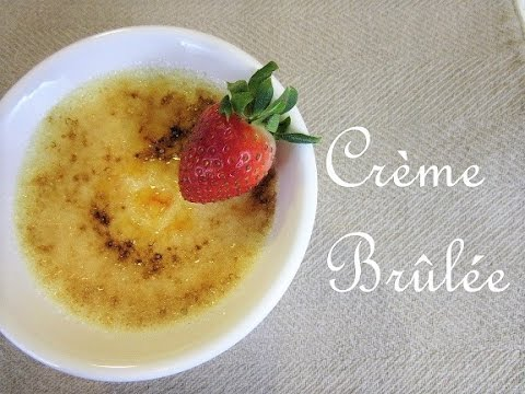 Easy Valentine's Day Dessert - How to make Creme Brulee