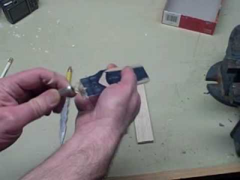 How to Carve a Miniature Wooden Dagger