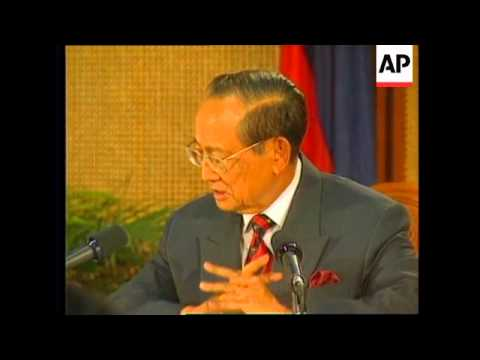 PHILIPPINES: PRESIDENT RAMOS CONCERNED ABOUT EVENTS IN CAMBODIA