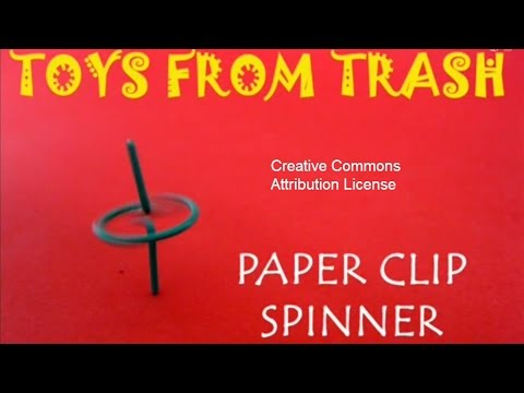 Paper Clip Spinner | Nepali