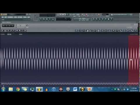 How to make a 808 drum (sub bass kick) in FL Studio
