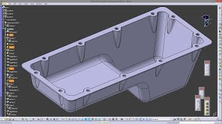 Extruded boss on the sphere - CATIA V5 Exercise - 2D into 3D