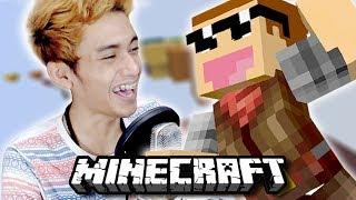 ISAN AJAK JONO PARKOUR PERTAMA KALINYA !! | Parkour Map | Minecraft Indonesia