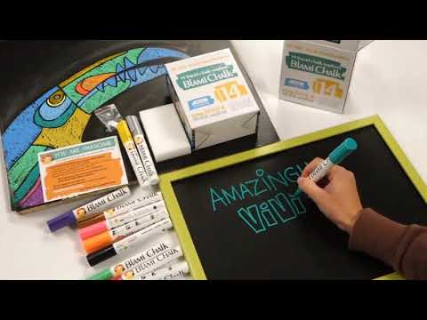 How to use Blami Chalk Markers 14 set