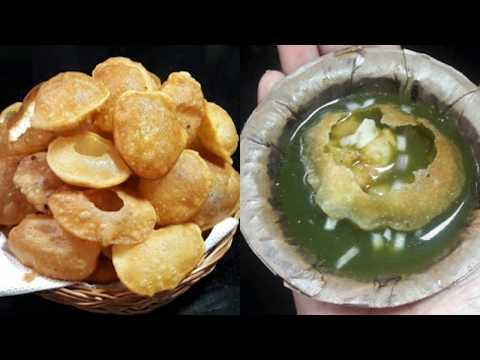 ಪಾನಿ ಪುರಿ ಮಾಡುವ ವಿಧಾನ ಕನ್ನಡದಲ್ಲಿ/golgappa recipe/pani puri recipe in kannada/puri for pani puri
