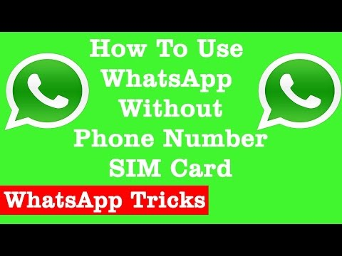 USE WHATSAPP WITHOUT USING YOUR OWN Mobile NUMBER Using Voxox App [FreeSV]