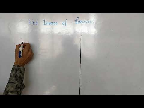 Relation and Function : How to find Inverse of a Function for 1st and 2nd Grade Teacher