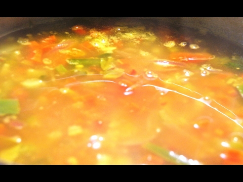 Quinoa veggie soup for weight loss-Reduces cholesterol & blood sugar-One pot meal