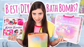 I Tested 2 DIY Bath Bomb Kits