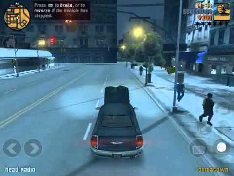 Grand Theft Auto IOS Gameplay #3: GTA3