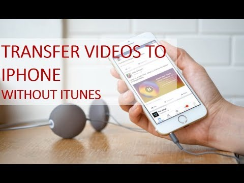 How to transfer video from laptop to iphone without iTunes