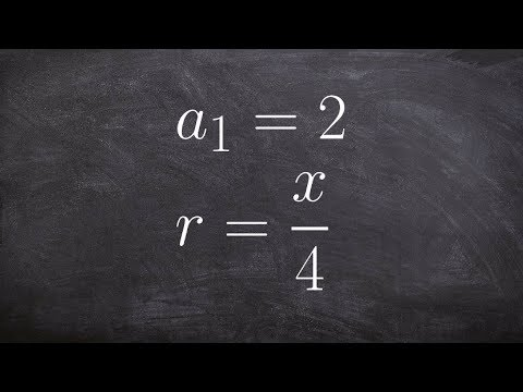 Determining the first five terms of a geometric recursive formula