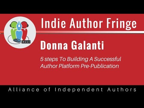 5 steps To Building A Successful Author Platform Before you Publish: Donna Galanti