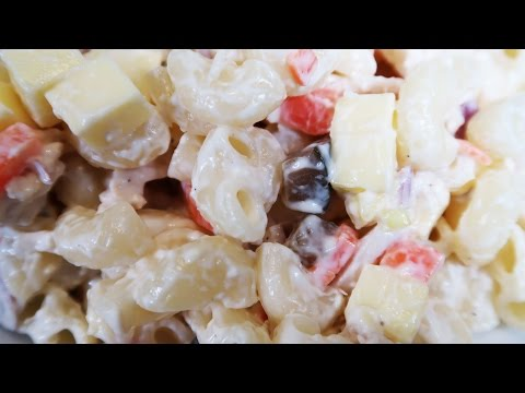 How to Cook Chicken Macaroni Salad Recipe