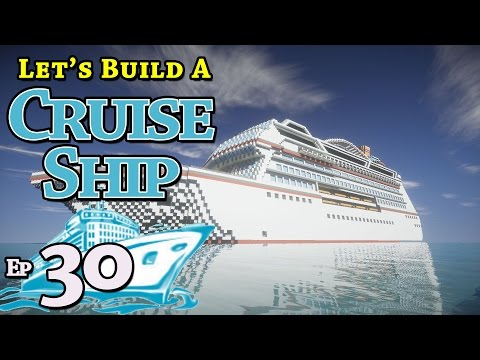 How To Build A Cruise Ship :: Minecraft :: E30 :: Z One N Only