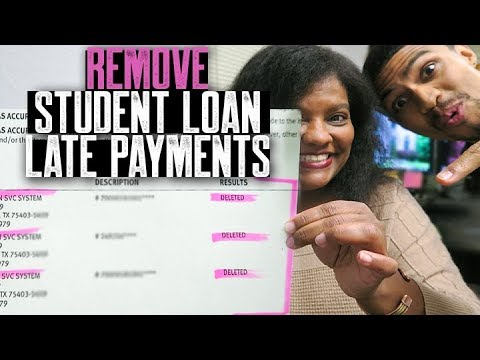 How to Remove Student Loan Late Payments From Your Credit Reports | Cornita's Testimonial