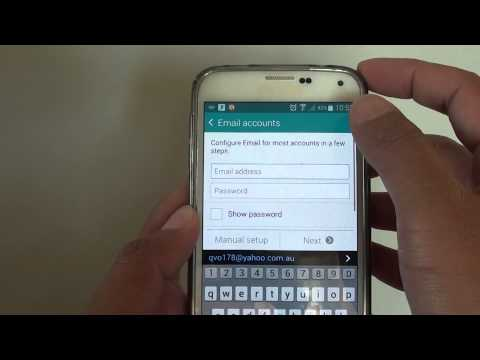 Samsung Galaxy S5: Setup Outlook / Hotmail Email With 2 Steps Verifications