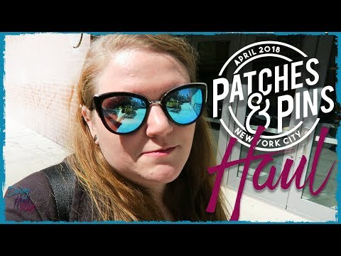 Patches and Pins Expo | NYC April 2018 | Diving Head First